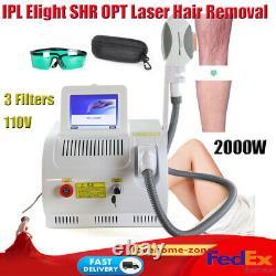 Pro Ipl Elight Shr Opt Laser Hair Removal Rf Machine De Rajeunissement De La Peau Pour Salon