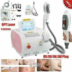 Pro Ipl Shr Opt Laser Permanent Tatouage Épilation Soins De La Peau Rf Salon Machine