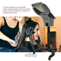 Pro Salon Ozone Ultrasons Soins Des Cheveux Spa Vapeur Huile Traitement Machine 700w