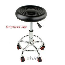 Professional Hair Steamer Rolling Stand+swivel Stool Chair Salon Spa Équipement