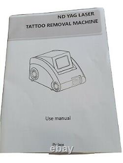 Professional Nd Yag Laser Tattoo Hair Removal Salon De Beauté Machine Q/switch