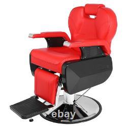 Professional Salon Barber Chair 360° Rolling Swivel Hair Salon Spa Équipement