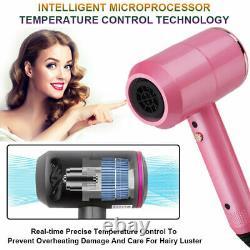 Professionnel 2000w Hair Blow Dryer Blower Salon Gray/pink/red/white 2 Speedlc793