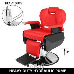 Professionnel 60 ° Tilt Salon De Coiffure Chaise Salon Spa Shampooing Coiffure 360 ° Pivotant
