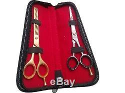 Professionnel Ciseaux Cheveux Allemand Barber Stylist Salon Ciseaux 6.5 Or
