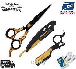 Professionnel Ciseaux Coiffure Cheveux Salon De Coiffure Ciseaux Salon Razor Sh6.5