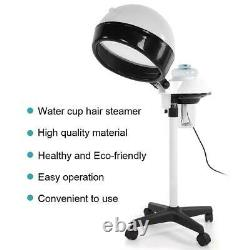 Professionnel Hair Steamer Rolling Stand Color Beauty Salon Spa Equipment Us Plug