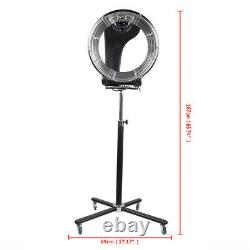 Professionnel Orbiting Halo Infrared Stand Hair Dryer Color Processor 3 In1 Salon
