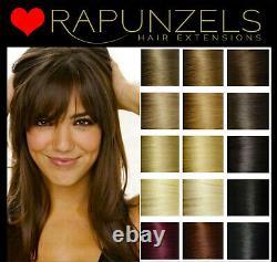 Remy Bâton I Tip Micro Extensions De Cheveux Anneau Rapunzels Salon Professionnel Remy