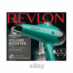 Revlon Professional 1875w Cheveux Ionique Volume Séchoir Avec Diffuseur Salon Pro