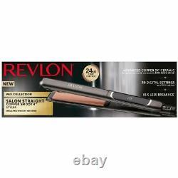 Revlon Rvst2175e Pro Collection Salon Straight XL Copper Iron Hair, 0 31/32in