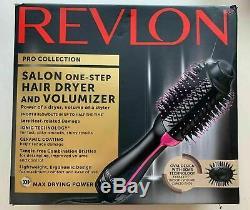 Salon Collection Revlon Pro One-step-cheveux Et Volumizer Gift Box Ouvert