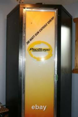 Salon De Coiffure & Spa Équipement Tanning Booth Stand Up Pro Sonic 200w Sun Capsule