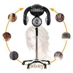 Salon De Sèche-cheveux Debout Professional Accelerator Color Processor Rolling