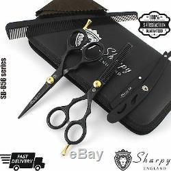 Salon Professionnel Barber Ciseaux Amincissants Ciseaux De Coupe De Cheveux Set Coiffure