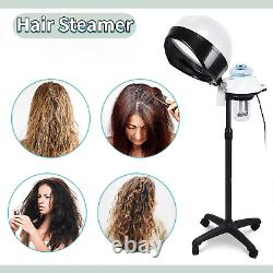 Salon Professionnel De La Vapeur De Cheveux À Capuche Plancher De Cheveux Sécheur De Sécheur Stand Rolling