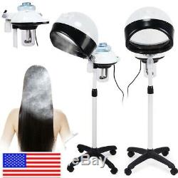Salon Professionnel Des Cheveux À Vapeur Support Roulant Base De Beauté Capot Du Processeur Couleur