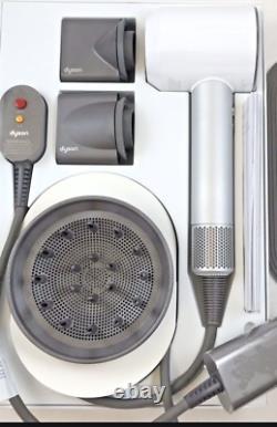 Salon Professionnel Grade Dyson Supersonic Hair Dryer Blanc/ Argent