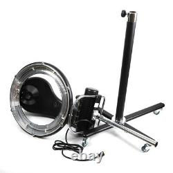 Salon Professionnel Orbiting Rollerball Infrared Stand Sèche-cheveux Styling 6 Modes