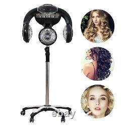 Salon Professionnel Sèche-cheveux Rolling Stand Base Beauty Hood Color Processor
