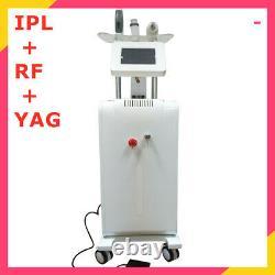 Salon Professionnel Vertical Ipl Rf Yag 3 En 1 Tattoo Removal & Cheveux Machine