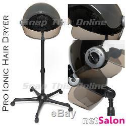 Sèche-cheveux Professionnel Sèche-cheveux Ionique Capot Stand Coiffeur Salon Permanent
