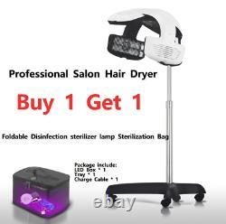 Sèche-cheveux Salon Professionnel, Processeur Stand Up, Chauffe-couleurs Timer Temp Perm