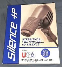 Silence HP 385 Pro Salon Sèche-cheveux Silencieux, Faible Consommation D'énergie, Fabriqué Aux Etats-unis