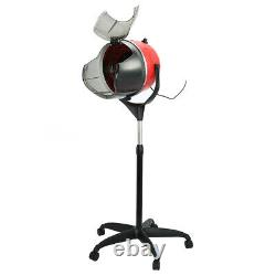 Stand Up Hair Dryer Timer Swivel Hood Caster Pour Salon Beauty Professional New