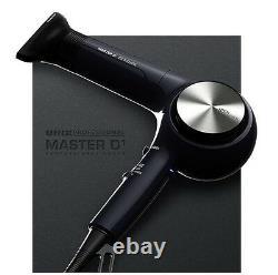 Unix Professional 3d Air Spin Sèche-cheveux Un B1870 Pour Salon De Coiffure Style Rapide