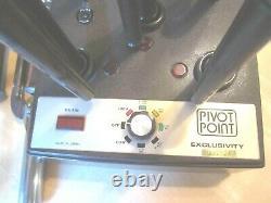 Vtg Pivot Point Exclusivité 6 Curling Iron Station Professional Salon De Coiffure P105