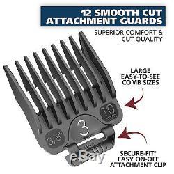 Wahl Tondeuse Professionnelle De Coupe De Cheveux Salon Machine Barber Cut Trimmer Set Kit